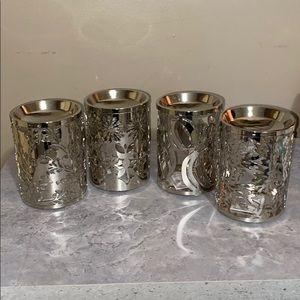 Bundle of 4 Slatkin & Co Fragrance Oil Warmers
